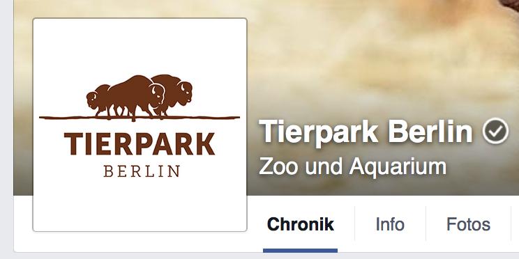 Facebook Tierpark